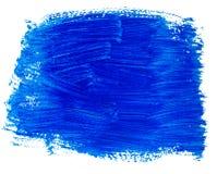 Μπλε ακρυλικό υπόβαθρο Στοκ εικόνες με δικαίωμα ελεύθερης χρήσης