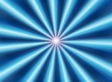 μπλε ακτίνες Στοκ Φωτογραφία
