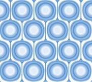 μπλε αναδρομικό διάνυσμα  Στοκ Εικόνες