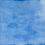 Μπλε ανασκόπηση watercolor Στοκ εικόνα με δικαίωμα ελεύθερης χρήσης