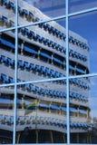 μπλε αντανάκλαση Στοκ φωτογραφία με δικαίωμα ελεύθερης χρήσης