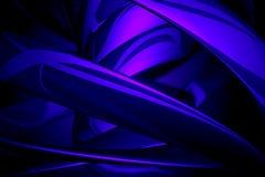 μπλε αντανακλάσεις Στοκ Εικόνες