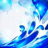 μπλε απελευθερώσεις διανυσματική απεικόνιση