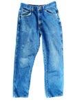 μπλε απομονωμένο λευκό τ& Στοκ φωτογραφία με δικαίωμα ελεύθερης χρήσης