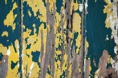 μπλε αποφλοίωση χρωμάτων &k Στοκ Εικόνα