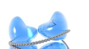 μπλε αρσενικά ελάφια δύο Στοκ Φωτογραφία