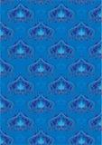 μπλε ασιατικές διακοσμή& Στοκ Εικόνα