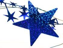 μπλε αστέρια ανασκόπησης Στοκ εικόνες με δικαίωμα ελεύθερης χρήσης