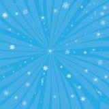 μπλε αστέρια Στοκ Εικόνα