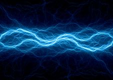 Μπλε αστραπή πλάσματος πάγου η ανασκόπηση χρωματίζει την ηλεκτρική κόκκινη τεχνολογία απεικόνισης κίτρινη διανυσματική απεικόνιση