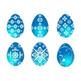 μπλε αυγά Πάσχας Στοκ φωτογραφία με δικαίωμα ελεύθερης χρήσης