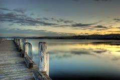μπλε αυγή Στοκ εικόνες με δικαίωμα ελεύθερης χρήσης
