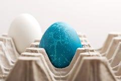 μπλε αυγό Πάσχας Στοκ Εικόνα