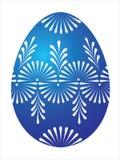 μπλε αυγό Πάσχας Στοκ Εικόνες