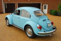 Μπλε αυτοκίνητο 03 Στοκ Εικόνες