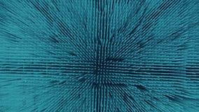 Μπλε αφηρημένα μόρια απεικόνιση αποθεμάτων