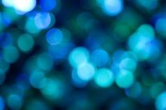 Μπλε αφηρημένα φω'τα