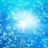 Μπλε αφηρημένη ανασκόπηση Στοκ φωτογραφία με δικαίωμα ελεύθερης χρήσης