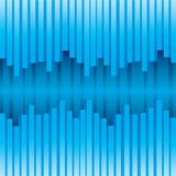 Μπλε αφηρημένη διανυσματική απεικόνιση υποβάθρου απεικόνιση αποθεμάτων