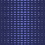 Μπλε αφηρημένο άνευ ραφής σχέδιο σημείων Πόλκα ημίτονων απεικόνιση αποθεμάτων