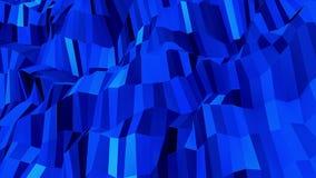 Μπλε αφηρημένο λαμπυρίζοντας υπόβαθρο διανυσματική απεικόνιση
