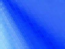 Μπλε αφηρημένο υπόβαθρο τριγώνων στοκ εικόνες