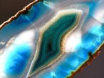 μπλε αχατών Στοκ Εικόνες