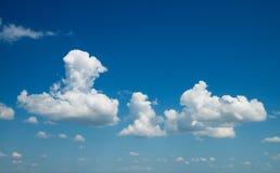μπλε βαθύς ουρανός Στοκ Εικόνες