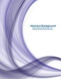 μπλε βαθύ λευκό κυμάτων α&n Ελεύθερη απεικόνιση δικαιώματος