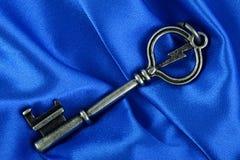μπλε βασικός παλαιός τρύγ& Στοκ εικόνες με δικαίωμα ελεύθερης χρήσης