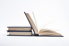 μπλε βιβλία Στοκ Εικόνες