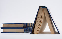 μπλε βιβλία Στοκ εικόνες με δικαίωμα ελεύθερης χρήσης