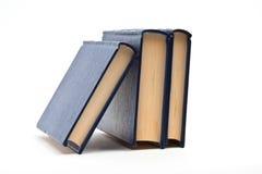 μπλε βιβλία Στοκ Φωτογραφία