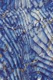 μπλε βιβλίο endpaper παλαιό Στοκ φωτογραφίες με δικαίωμα ελεύθερης χρήσης