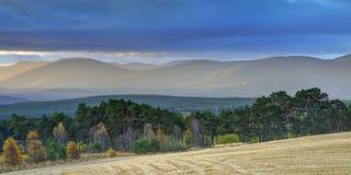 μπλε βουνά αυγής στοκ φωτογραφίες με δικαίωμα ελεύθερης χρήσης