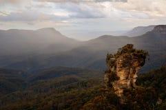μπλε βουνά της Αυστραλί&alpha Στοκ Φωτογραφίες