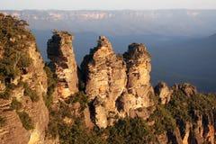 μπλε βουνά της Αυστραλί&alpha Στοκ εικόνα με δικαίωμα ελεύθερης χρήσης