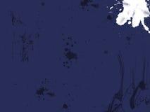 μπλε βρώμικο έγγραφο Στοκ Φωτογραφίες