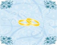 μπλε γαμήλια σύσταση faiths διανυσματική απεικόνιση