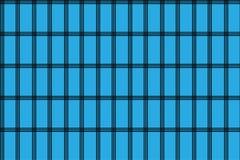 Μπλε γεωμετρικό αφηρημένο σχέδιο Άνευ ραφής γεωμετρικό σχέδιο απεικόνιση αποθεμάτων