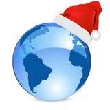 μπλε γη έννοιας Χριστου&gamm διανυσματική απεικόνιση