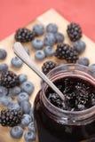 μπλε γλυκό συστατικών Στοκ εικόνες με δικαίωμα ελεύθερης χρήσης