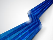 μπλε γραμμή Στοκ φωτογραφία με δικαίωμα ελεύθερης χρήσης
