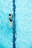 μπλε γραμμή Στοκ εικόνες με δικαίωμα ελεύθερης χρήσης