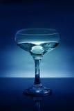 μπλε γυαλί ανασκόπησης Στοκ Εικόνες