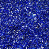μπλε γυαλί Στοκ φωτογραφία με δικαίωμα ελεύθερης χρήσης