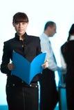 μπλε γυναίκες ανδρών κορ& Στοκ Εικόνες