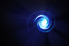μπλε δίνη Στοκ εικόνες με δικαίωμα ελεύθερης χρήσης