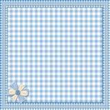 μπλε δαντέλλα πλαισίων αν Στοκ φωτογραφία με δικαίωμα ελεύθερης χρήσης
