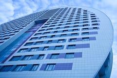 μπλε δεξιά πλευρά σπιτιών &kapp Στοκ φωτογραφία με δικαίωμα ελεύθερης χρήσης